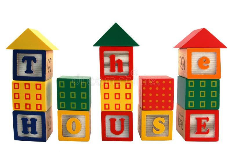 Casa do brinquedo imagem de stock royalty free