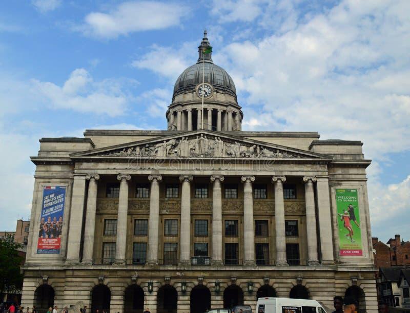 Casa do Conselho de Nottingham fotos de stock