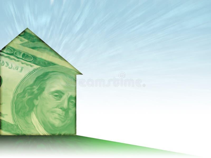Casa do dinheiro ilustração royalty free