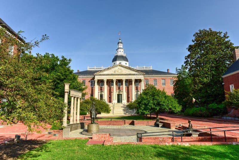 Casa do estado de Maryland imagens de stock