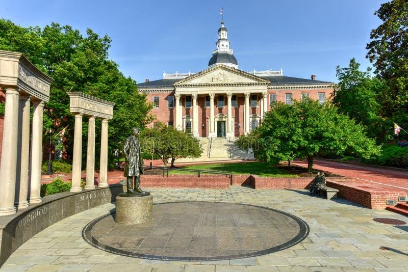 Casa do estado de Maryland foto de stock royalty free