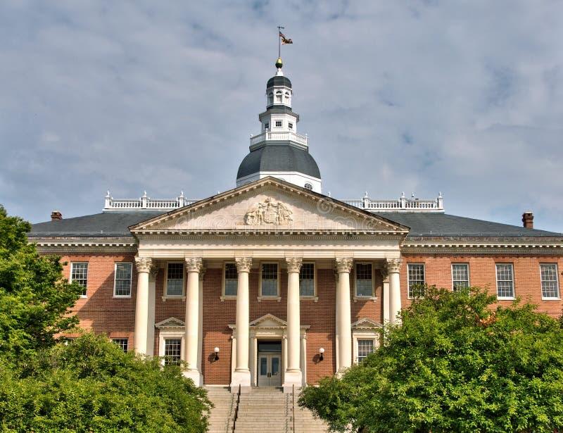 Casa do estado de Maryland em Annapolis, Maryland fotos de stock royalty free