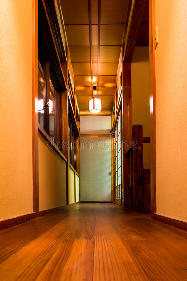 Casa do estilo japonês fotografia de stock