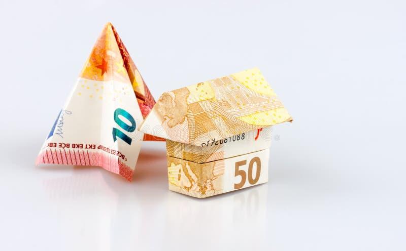 Casa do Euro imagem de stock royalty free