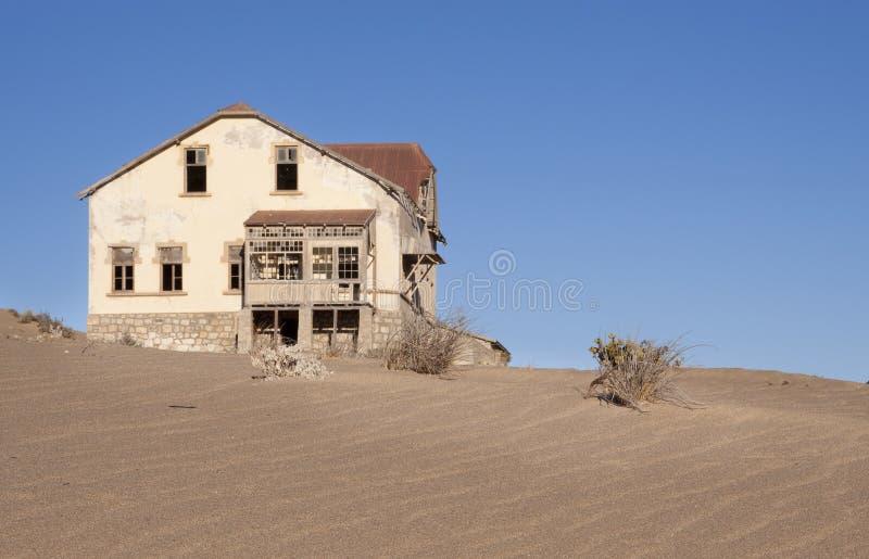 Casa do fantasma imagem de stock