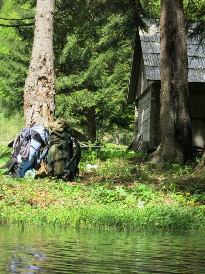 Casa do Forester foto de stock
