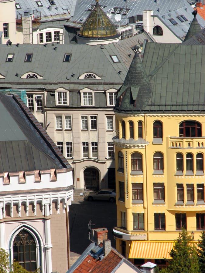 Casa do gato em Riga fotos de stock royalty free