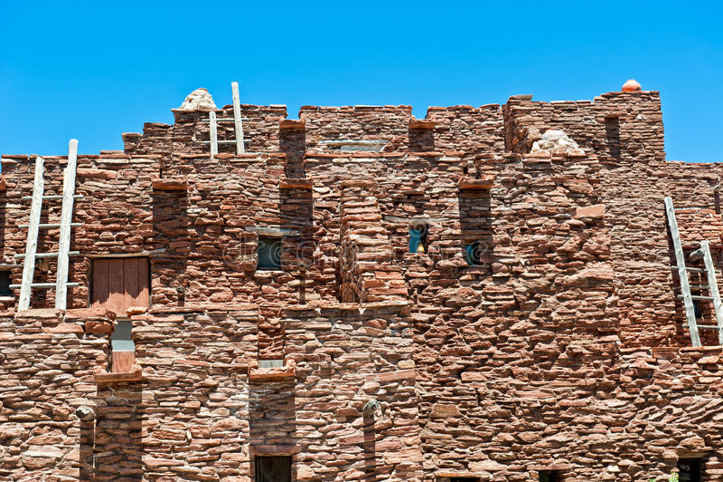 Casa do Hopi fotografia de stock