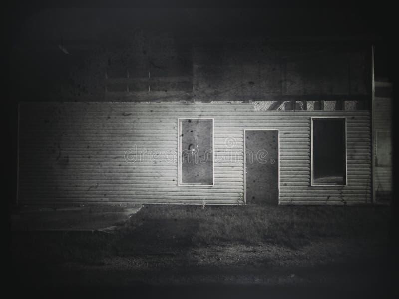 Casa do inferno fotografia de stock royalty free