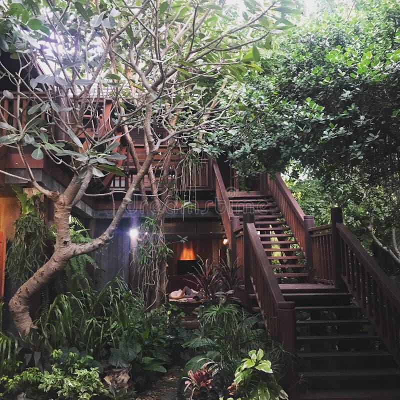 Casa do jardim fotografia de stock
