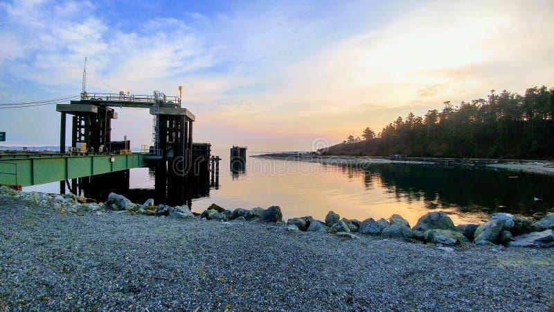 Casa do litoral fotografia de stock royalty free