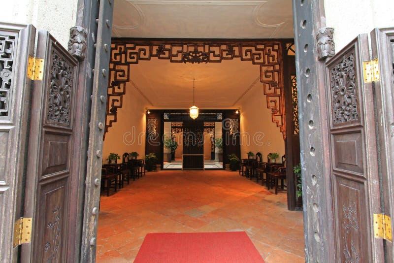 A casa do mandarino, Macau fotos de stock royalty free