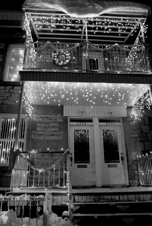 Casa Do Natal Fotos de Stock Royalty Free