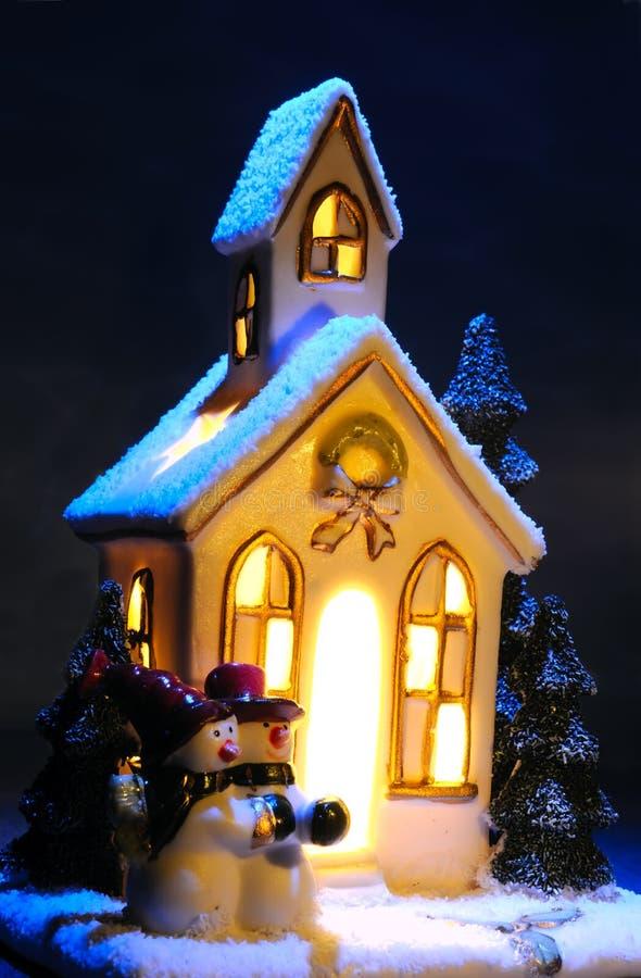 Casa do Natal imagem de stock royalty free