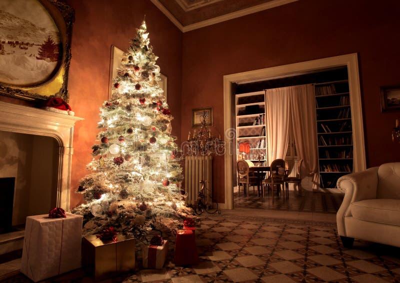 Casa do Natal imagens de stock royalty free