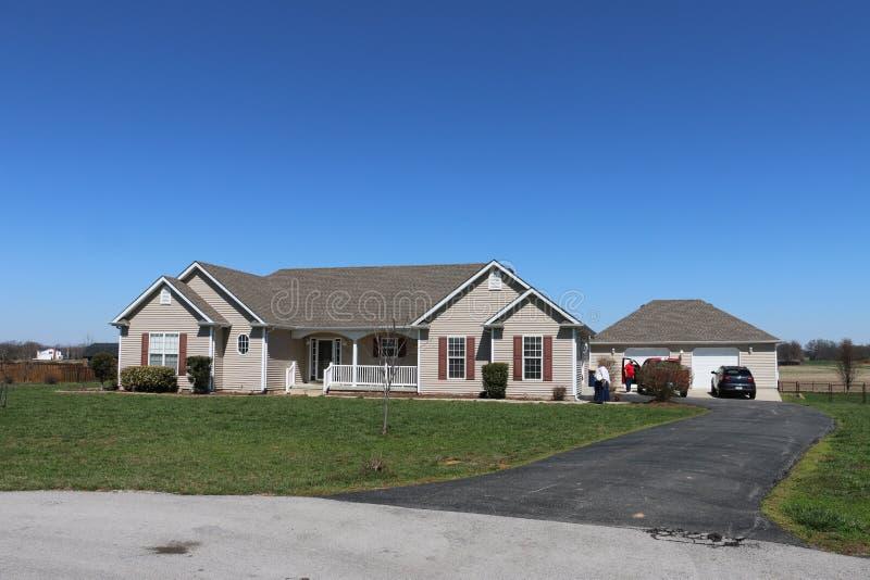 Casa do país de Kentucky foto de stock royalty free