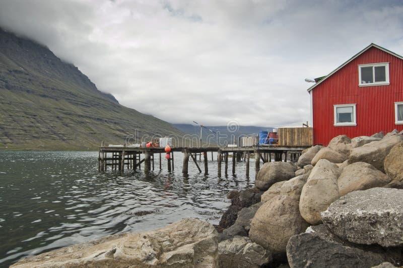 Casa do pescador imagem de stock