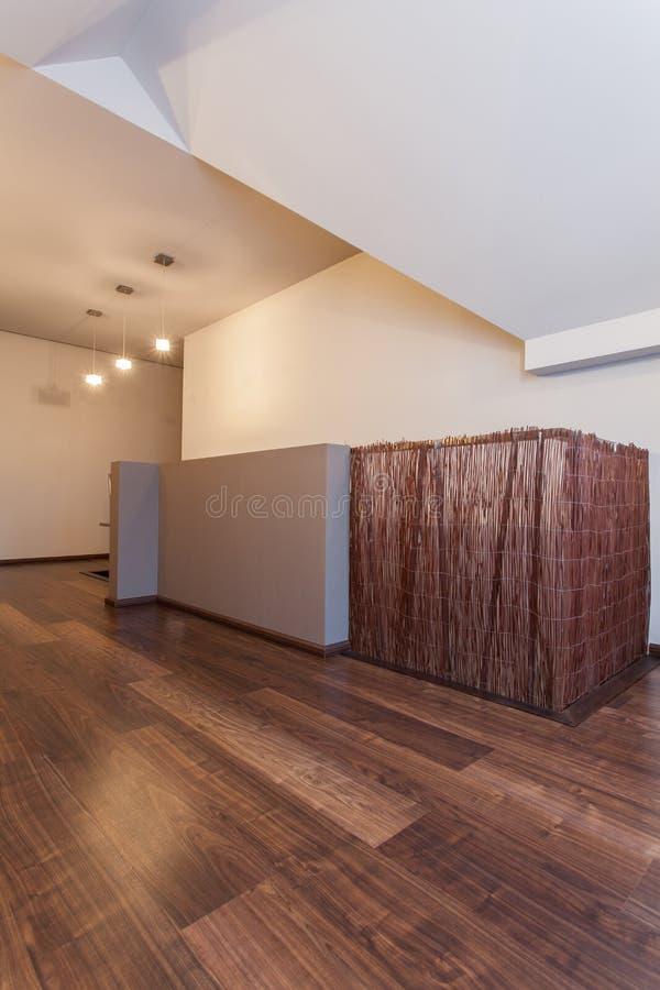 Casa do rubi - escadaria de bambu imagens de stock royalty free