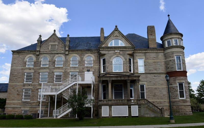 Casa do ` s da cadeia e do xerife de Sandusky County imagem de stock