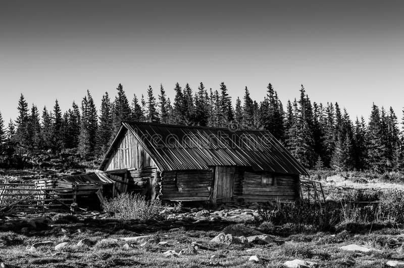 Casa do Sheepherder fotografia de stock royalty free