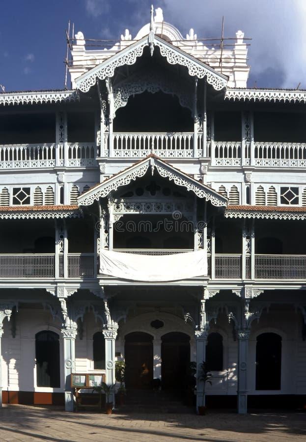 Casa do Victorian, Zanzibar fotos de stock