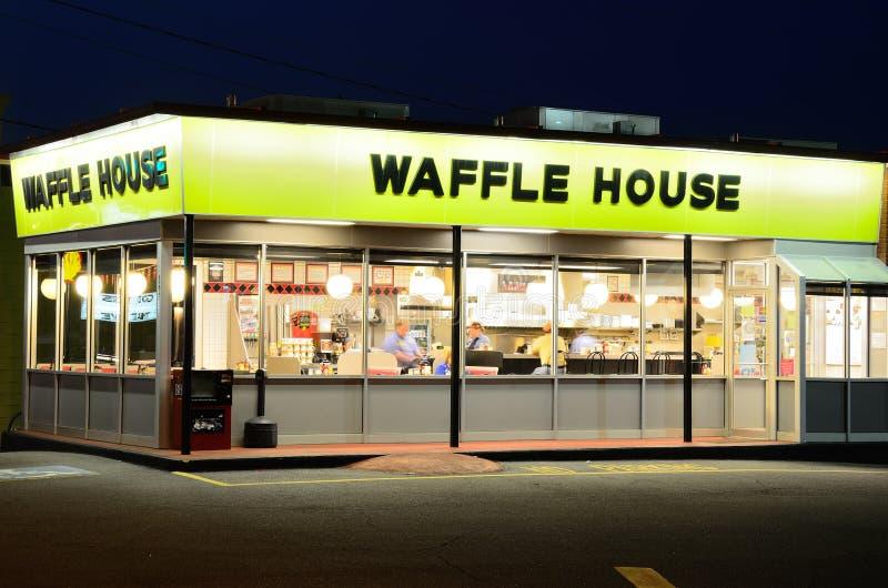 Casa do Waffle foto de stock royalty free
