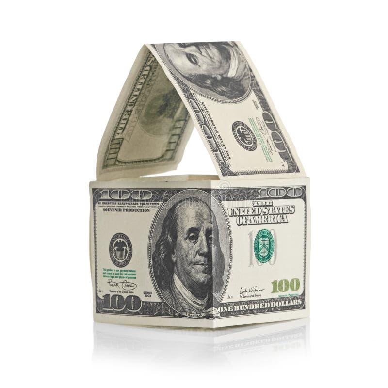 Download Casa dos dólares foto de stock. Imagem de conceitos, dólar - 26511996