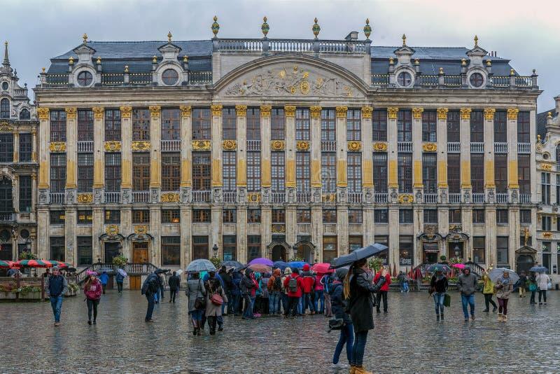Casa dos duques de Brabante, Bruxelas, Bélgica fotografia de stock royalty free