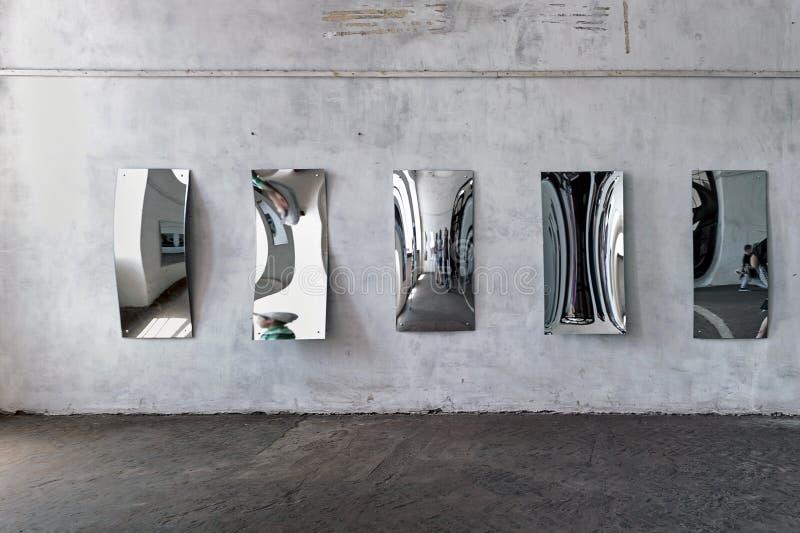 Casa dos espelhos imagens de stock royalty free