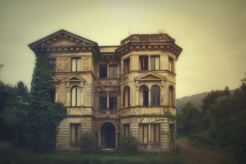 Casa dos horror fotografia de stock