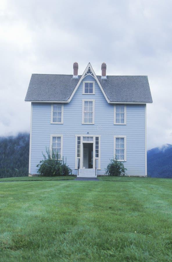 Casa a due piani immagine stock