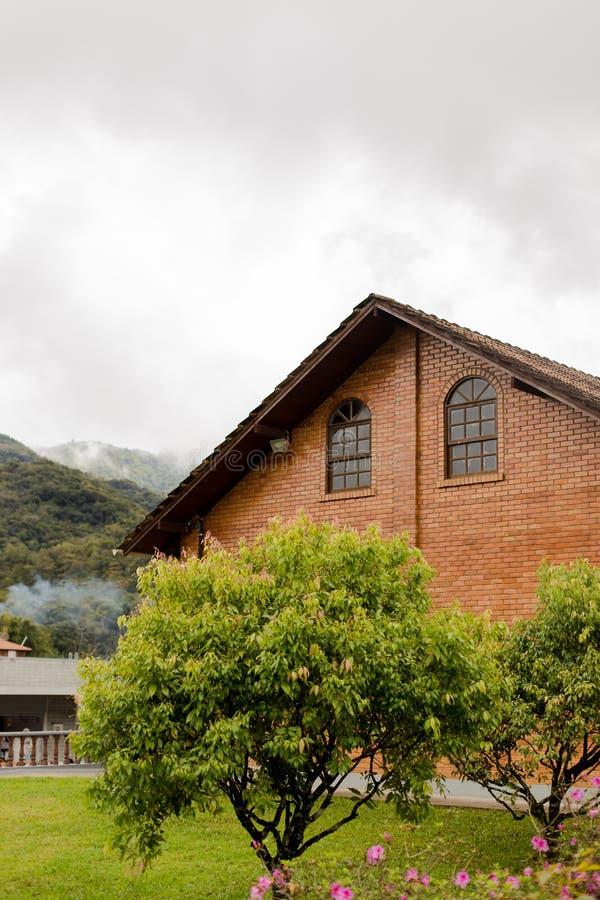 Casa e museo tedeschi della costruzione fotografie stock libere da diritti