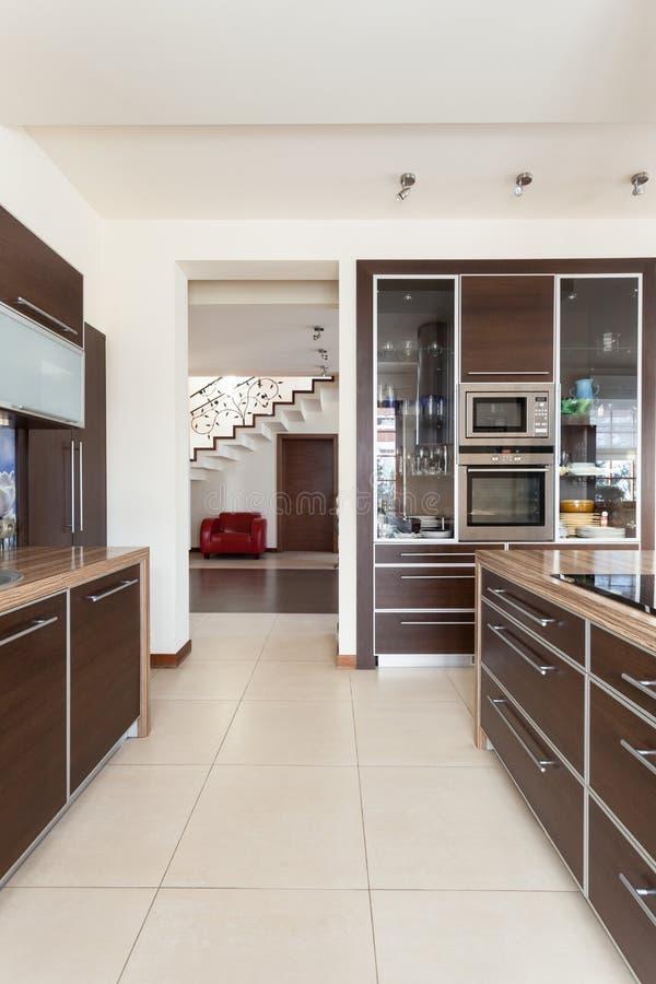 Casa elegante - cozinha imagens de stock royalty free