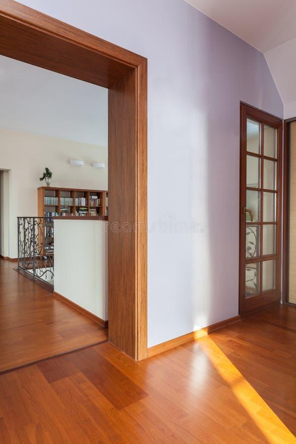 Casa elegante - entrada foto de stock royalty free