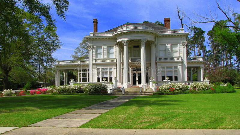 Casa elegante graziosa immagini stock
