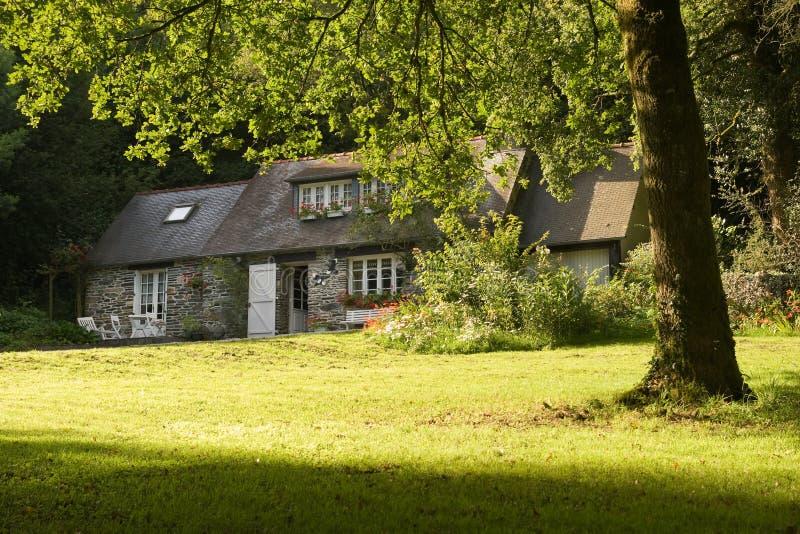 Casa em Brittany fotos de stock royalty free
