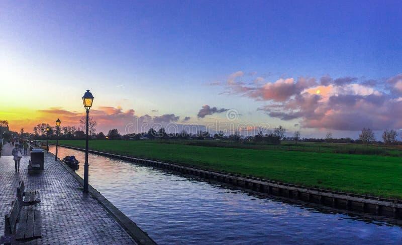 Casa em Giethoorn ~ Holanda, Países Baixos foto de stock royalty free