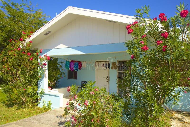 Casa em Grande Caimão, Cayman Islands, das caraíbas imagens de stock royalty free