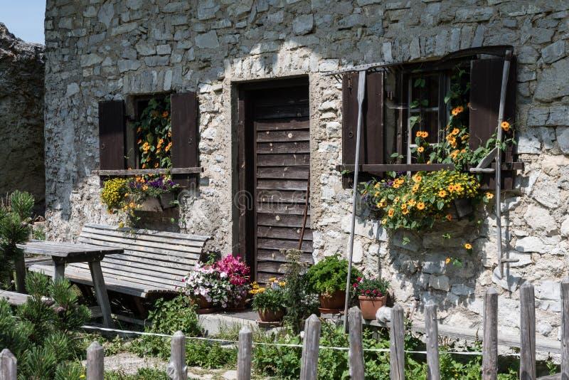 Casa em Kampenwand Baviera foto de stock