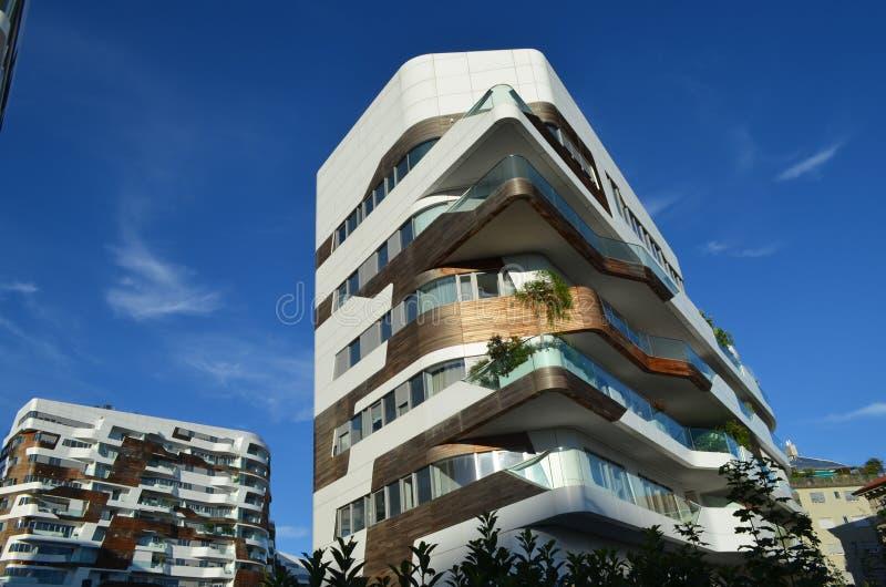 Casa em Milão imagens de stock royalty free