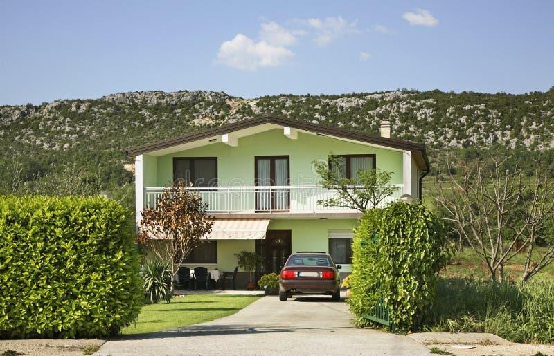 Casa em Studenci Bósnia e Herzegovina fotos de stock