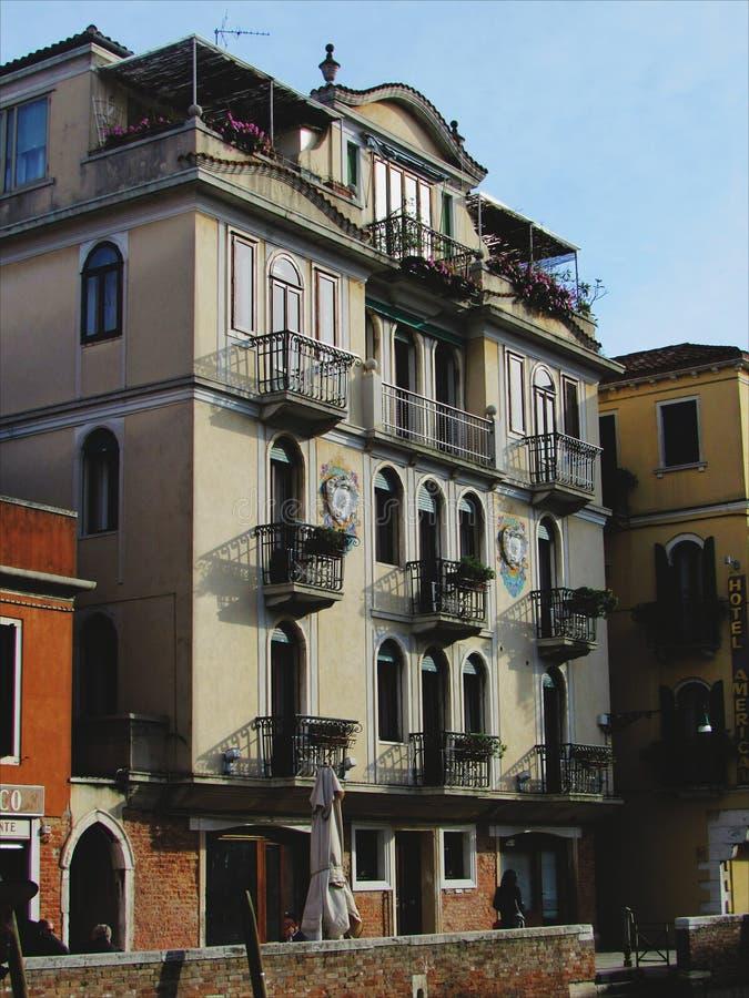 Casa em Veneza fotos de stock