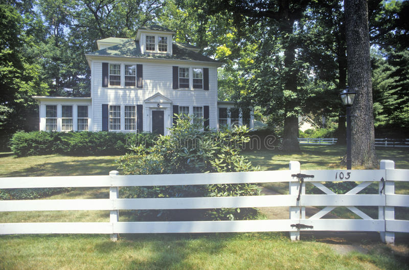 Casa em Washington Grove, Maryland fotos de stock