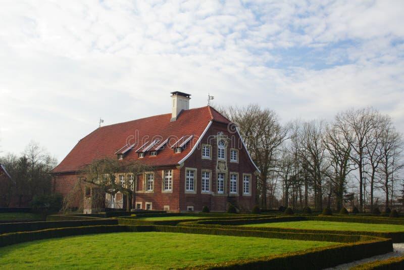 Casa en Alemania foto de archivo libre de regalías