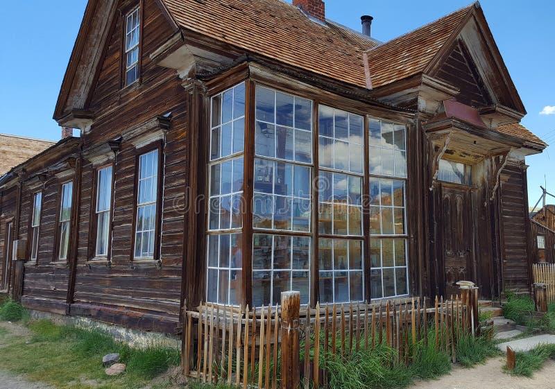 Casa en Bodie foto de archivo libre de regalías