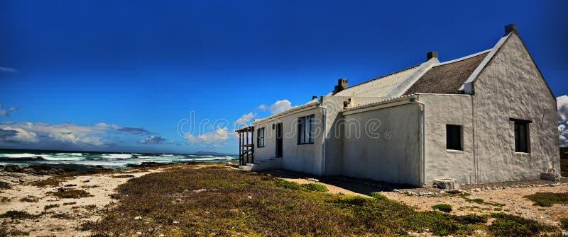 Casa en Cabo Agulhas  foto de archivo