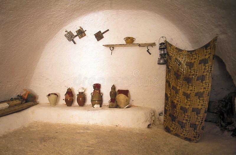 Casa en cueva fotos de archivo libres de regalías