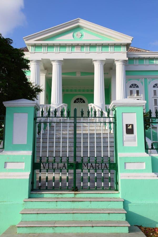 Casa en Curaçao imágenes de archivo libres de regalías