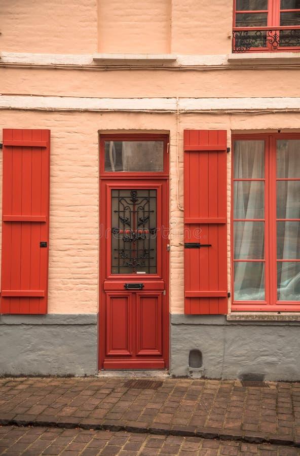Casa en Francia - sabor europeo fotos de archivo