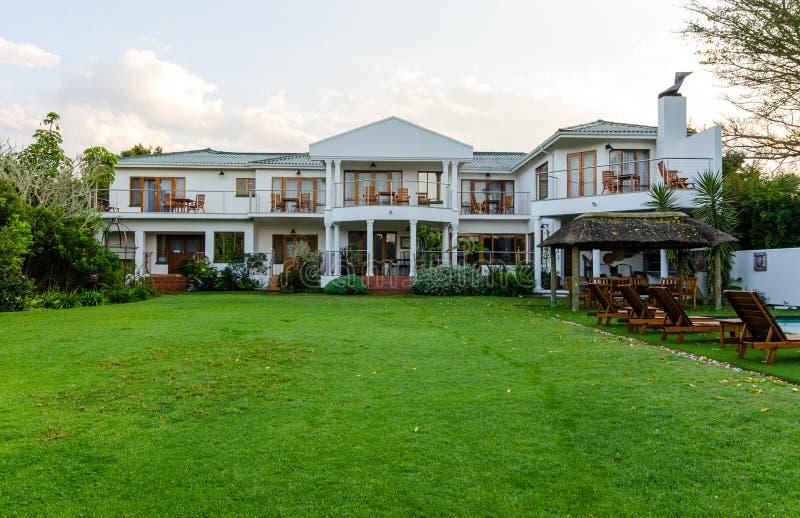 Casa en Knysna Suráfrica imagen de archivo